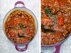 Jamie Oliver's Basic Stew recipe. Simple and awesome. 4 recipes in one. I love him!