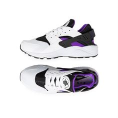 Men's Nike Air Huarache Run - Grape / Black / Purple | Platypus Shoes