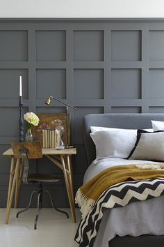 The Grey paint collection by the Little Greene Paint Company. Photo credit: Little Greene Paint Company. Shades of grey are fashionable right now. Interior Color Schemes, Gray Interior, Interior Exterior, Interior Design, Interior Ideas, Colour Schemes, Colour Trends, Colour Combinations, Design Interiors