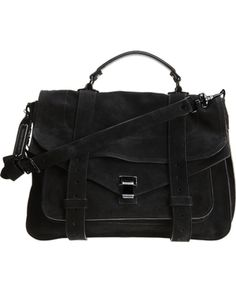 PROENZA SCHOULER • PS1 large suede limited edition