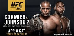 UFC 210 forecast predictions and picks ANTHONY JOHNSON RUMBLE Vs DANIEL CORMIER DC poster