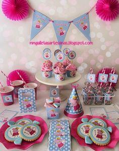 Una fiesta Peppa Pig muy especial… | Fiestas infantiles y cumpleaños de niños