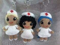 Llaveros enfermeras