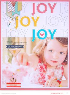 Joy *Main Kit Only* by natalie elphinstone at @studio_calico - digital template layout
