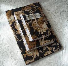 Set of three handmade journals or notebooks
