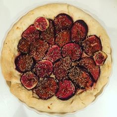 Foccacia z figami :3 #baking #foccacia #figs