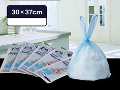 Scented Nappy Trash Disposal Rubbish Garbage Bags For Mummy/Baby 100 Count Blue - http://baby.goshoppins.com/diapering/scented-nappy-trash-disposal-rubbish-garbage-bags-for-mummybaby-100-count-blue/