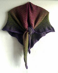 scialle con spiegazioni in italiano - la maglia di marica