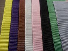 Grosgrain Ribbon NEW Grosgrain Ribbon By The Yard 7/8 inch wide $1.10