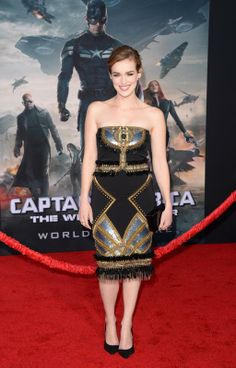 Chloe Bennet & Elizabeth Henstridge Head to 'Captain America' Premiere: Photo Chloe Bennet keeps it chic on the red carpet for the premiere of Marvel's Captain America: The Winter Soldier held at the El Capitan Theatre on Thursday night (March… Elizabeth Henstridge, Jessica Szohr, Chloe Bennet, Strapless Dress Formal, Formal Dresses, Local Girls, Celebs, Celebrities, Winter Soldier