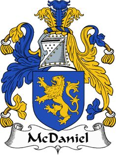 McDaniel Clan Coat of Arms