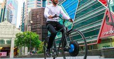 Simply replace your front bike wheel with UrbaNext Wheel to receive a fully functional E-bike | Mit Crowdfunding kann man auf demokratische Art Gelder für die eigene Community sammeln. Mach mit und unterstütze noch heute ein Projekt!