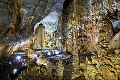 "Phong Nha-Ke Bang National Park contains the oldest major karst area in Asia. Protecting those caves is the reason for the park and also why it was named a UNESCO World Heritage Site. This cave is called Thien Duong (Động Thiên Đường) and is over 19 miles (31 km) long. The British cave explorers were so impressed by the beauty of the rock formation inside the cave, they dubbed this place as ""Paradise Cave."