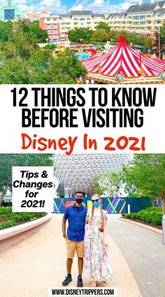 12 Things to Know Before Visiting Disney in 2021 Tips and Changes for 2021! | tips for disney in 2021 | things to know about disney in 2021 | disney world vacation tips | disney planning tips #disney #disneyworld