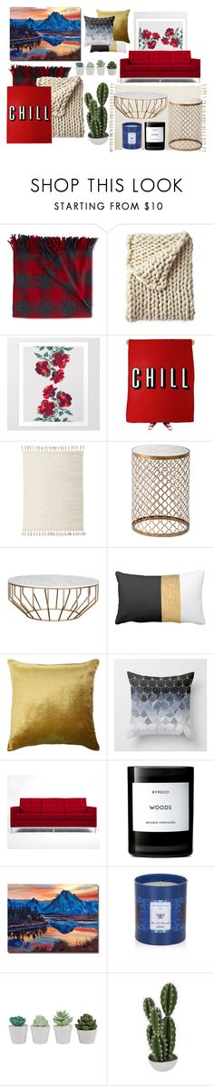 """""""Great Room"""" by jada-marie12131 ❤ liked on Polyvore featuring interior, interiors, interior design, home, home decor, interior decorating, L.L.Bean, Serena & Lily, Puji and Kevin O'Brien"""