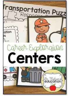 Centers for your School Counseling PreK and Kindergarten program on career exploration Types Of Education, Education College, College Majors, College Hacks, Elementary Counseling, School Counselor, Career Counseling, College Information, Career Day