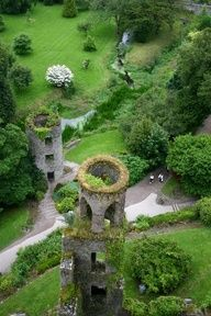 Kissing the Blarney Stone -Blarney Castle - Cork City, Ireland