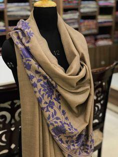 Pure Pashmina Kani Shawl, Kashmir Kani Shawl, Hand Woven, Woven Art, Women Shawl #AngadCreations #pure #pashmina #cashmere #hand #woven #fashion #kashmiri #india #women #kani #palla #shawls #wrap #warm #winter #beige #ethnic #traditional #multicolour #wrap #shawls #Woven #Art #Women #Scarf #girl #Kashmir #indian #wear #fashion #accessories Weaving Art, Hand Weaving, Art Women, Pashmina Shawl, Fancy Pants, Woman Clothing, Fabric Painting, Shawls And Wraps, Indian Wear