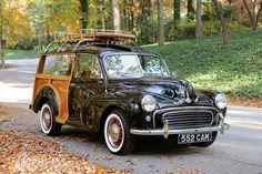 1955 Morris Minor Traveller II | Flickr - Photo Sharing! Classic Mini, Classic Cars, Morris Traveller, Vintage Cars, Antique Cars, Wooden Wagon, Classic Wooden Boats, Morris Minor, Shooting Brake