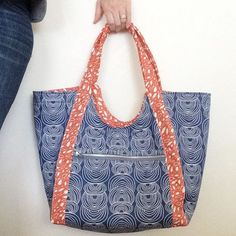 <p>When I made my first Poolside Tote from the pattern by Anna Graham / Noodlehead in 2014, I blogged about it. 18 months later, I still use that tote all the time! I love it! And I've made three more totes since…</p>
