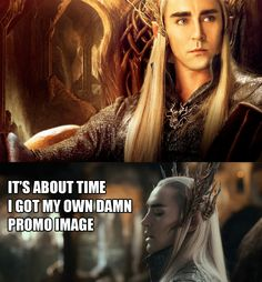 There's been way too much Legolas, Tauriel and...NOT ENOUGH THRANDUIL!