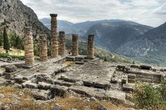The oracle at Delphi.