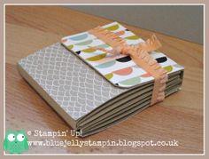 Stampin' Up! Sale-a-bration Sneak Peek.  Great little gift book.