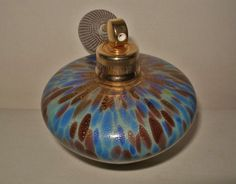 INTENSELY Exquisite MURANO ART Glass PERFUME Glimmering GOLD DUST Awesome COLORS