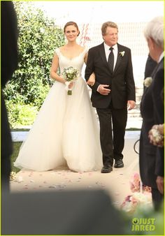 'Bones' Wedding: Booth & Bones Get Married - See Wedding Pics! | David Boreanaz, Emily Deschanel Photos | Just Jared