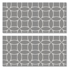 I'd like to use more wallpaper in our next home...and these removable/reusable wall tiles are a great solution!
