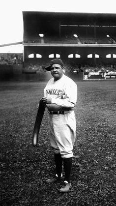 Yankee Babe Ruth at Comiskey Park 1920s.