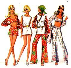 "Hippie 1970 Bell Bottom Pants  hahaha!  ""Hippie"""