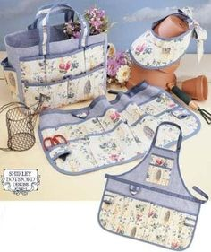 Garden Accessories Patterns - Tote, Apron & more!-Garden Accessories - Tote, Apron & more!
