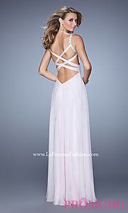 Buy La Femme Prom Dress with Open Back at PromGirl