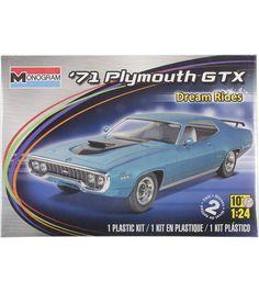 Revell Monogram '71 Plymouth GTX Plastic Model Kit