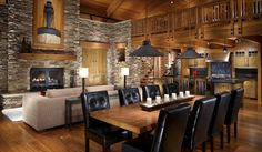 Beautiful Rustic Dining Area