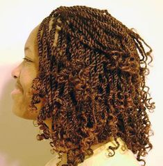 Two Strand Twists - maybe a new look for me