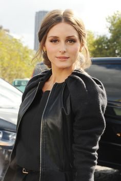 Olivia Palermo Messy Updo - Olivia Palermo Looks - StyleBistro