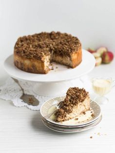 Mehevä Uuniomenajuustokakku Kauramurulla Most Delicious Recipe, Delicious Cake Recipes, Yummy Cakes, Yummy Food, Cake Fillings, Easy Baking Recipes, Frosting Recipes, No Bake Cake, Eat Cake