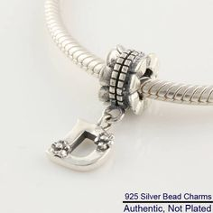 DIY Fits For Pandora Bracelets Letter D Charms 100% 925 Authentic Sterling-Silver-Jewelry Beads For Women Free shipping #Affiliate