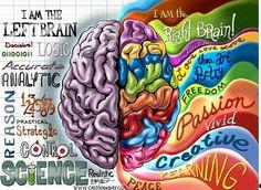 Ein kraftvoller Schlag der Erkenntnis – Je mehr wir unsere rechte Hirnhälfte bewusst nutzen, umso mehr sind wir mit allem eins