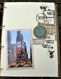 Scrapbooking : Destination