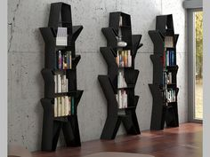 Etagères . Mod. NAMU A Bookends, Contact Form, Book Holders