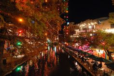 San Antonio, Texas. Riverwalk.