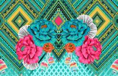 A designer de estampas Clau Cicala é conhecida por seus desenhos autorais, coloridos e cheios de personalidade em aquarelas. Conheça seu trabalho!
