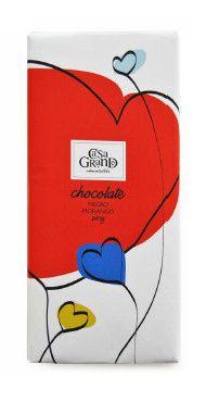 Chocolate Negro com Morango. 200g