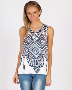 SPICY SUGAR TRAPEZE TOP