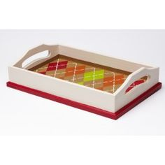 Plaid® Argyle Wooden Tray