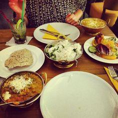 Ein köstliches Essen im Amrit in der Ebertstraße 14 Berlin.