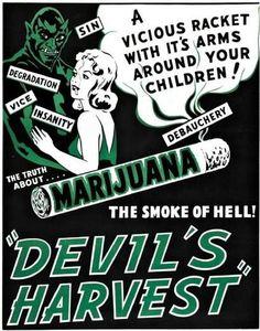 Laughable Anti-Marijuana Propaganda From 1930's
